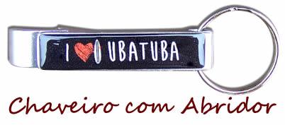 chaveiro i love ubatuba
